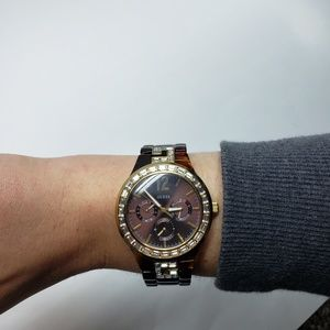 Guess Hi- Energy Iconic Shine and Sparkle Watch
